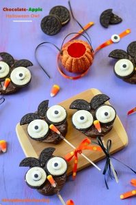 Chocolate-Apple-Halloween-Owl...So-cute-A-great-Halloween-project-for-children